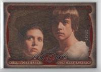Princess Leia, Luke Skywalker /50