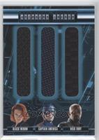 Nick Fury, Black Widow, Captain America