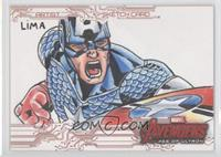 Cleber Lima (Captain America) /1