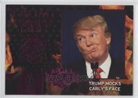 Trump Mocks Carly's Face