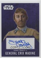 Dermot Crowley as GeneralCrix Madine /25