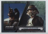 Short Print - Lando Calrissian (Skiff Guard) /100