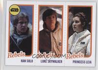 Han Solo, Luke Skywalker, Princess Leia Organa /989