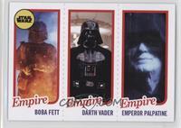 Boba Fett, Darth Vader, Emperor Palpatine #/989