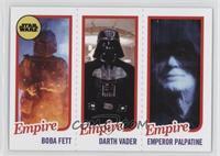 Boba Fett, Darth Vader, Emperor Palpatine /989