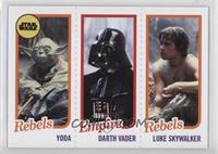 Yoda, Darth Vader, Luke Skywalker /989