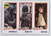 Chewbacca, Boba Fett, Han Solo /989