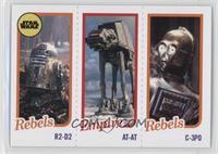R2-D2, AT-AT, C-3PO /989
