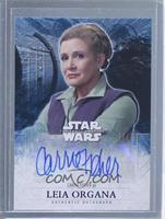 Carrie Fisher as Leia Organa /50