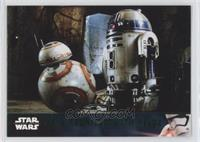 BB-8 Reunited With R2-D2