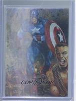 Iron Man, Captain America, Thor, Hulk