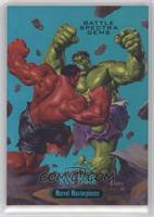 Hulk vs. Red Hulk /99