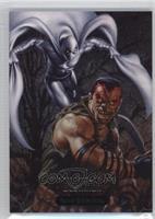 Bushman vs. Moon Knight