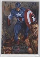 Level 3 - Captain America /999