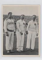 Hans Woellke, Sulo Barlund, Gerhard Stock