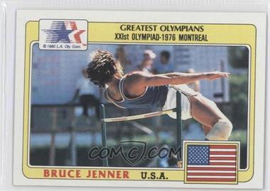 1983 History's Greatest Olympians - [Base] #50 - Bruce Jenner