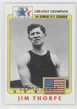 1983 History's Greatest Olympians #37 - Jim Thorpe
