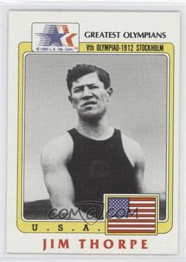1983 History's Greatest Olympians #37 - Jim Thorpe