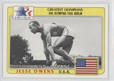1983 History's Greatest Olympians #49 - Jesse Owens