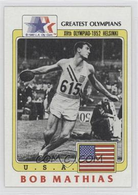 1983 History's Greatest Olympians #59 - [Missing]