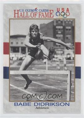 1991 Impel U.S. Olympicards Hall of Fame - [Base] #6 - Babe Didrikson