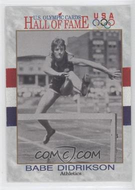 1991 Impel U.S. Olympicards Hall of Fame #6 - Babe Didrikson