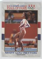 Mary Lou Retton (short hair on back in color)