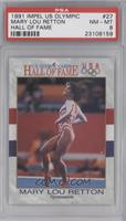 Mary Lou Retton (long hair on back/black and white) [PSA8]