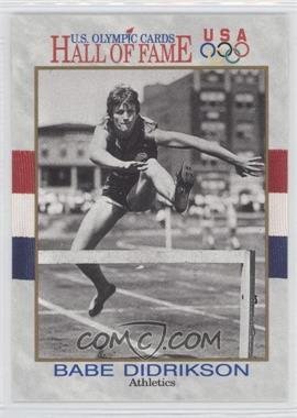 1991 U.S. Olympicards Hall of Fame #6 - Babe Didrikson
