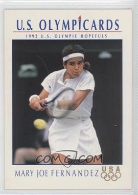 1992 Impel U.S. Olympicards #83 - Mary Joe Fernandez