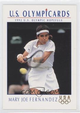 1992 U.S. Olympicards #83 - Mary Joe Fernandez