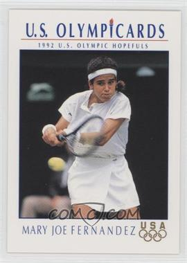 1992 U.S. Olympicards #83 - Mary Joe Fernandez