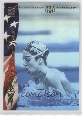 1996 Upper Deck Olympicard Reign of Gold #RN3 - Janet Evans
