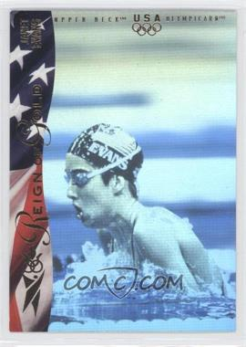 1996 Upper Deck Olympicard Reign of Gold #RN3 - Janet Evans