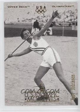 1996 Upper Deck Olympicard #29 - Babe Didrikson
