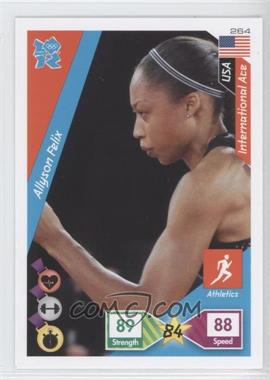 2010 Panini Adrenalyn XL 2012 Summer Olympics - [Base] #264 - Allyson Felix