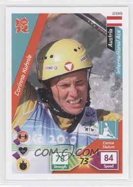 2010 Panini Adrenalyn XL 2012 Summer Olympics - [Base] #286 - Corinna Kuhnle