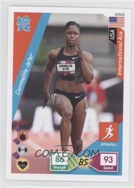 2010 Panini Adrenalyn XL 2012 Summer Olympics #262 - Carmelita Jeter