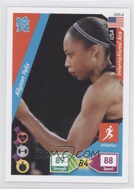 2010 Panini Adrenalyn XL 2012 Summer Olympics #264 - Allyson Felix