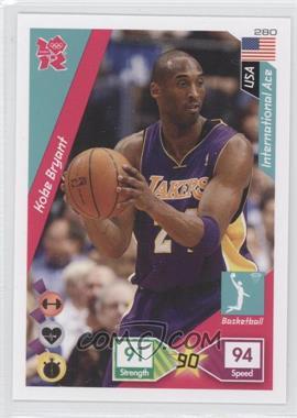 2010 Panini Adrenalyn XL 2012 Summer Olympics #280 - Kobe Bryant