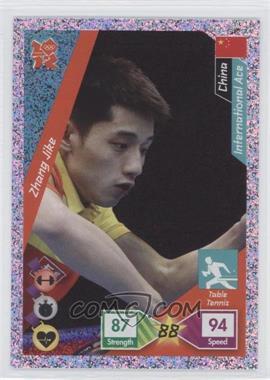 2010 Panini Adrenalyn XL 2012 Summer Olympics #327 - Zhang Jike