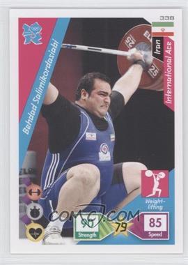 2010 Panini Adrenalyn XL 2012 Summer Olympics #338 - Behdad Salimikordasiabi
