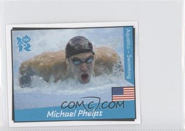 2010 Panini London 2012 Album Stickers #29 - Michael Phelps