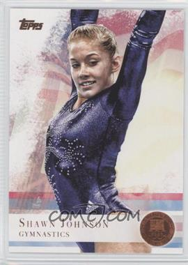 2012 Topps U.S. Olympic Team and Olympic Hopefuls - [Base] - Bronze #1 - Shawn Johnson
