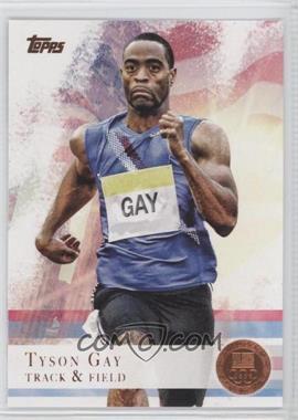 2012 Topps U.S. Olympic Team and Olympic Hopefuls - [Base] - Bronze #10 - Tyson Gay