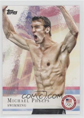 2012 Topps U.S. Olympic Team and Olympic Hopefuls - [Base] - Bronze #100 - Michael Phelps