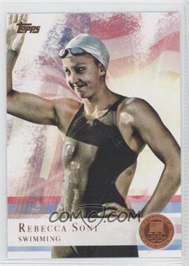 2012 Topps U.S. Olympic Team and Olympic Hopefuls - [Base] - Bronze #26 - Rebecca Soni