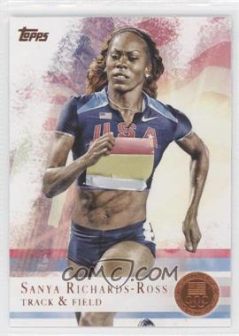 2012 Topps U.S. Olympic Team and Olympic Hopefuls - [Base] - Bronze #30 - Sanya Richards-Ross