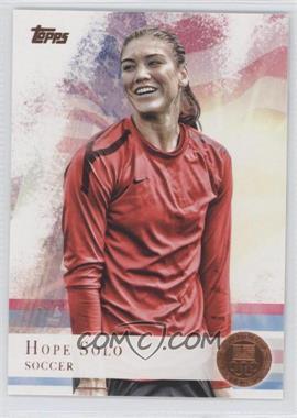2012 Topps U.S. Olympic Team and Olympic Hopefuls - [Base] - Bronze #50 - Hope Solo