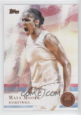 2012 Topps U.S. Olympic Team and Olympic Hopefuls - [Base] - Bronze #60 - Maya Moore